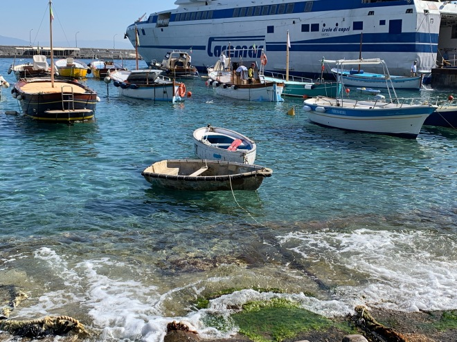 Boats, ferry, marina