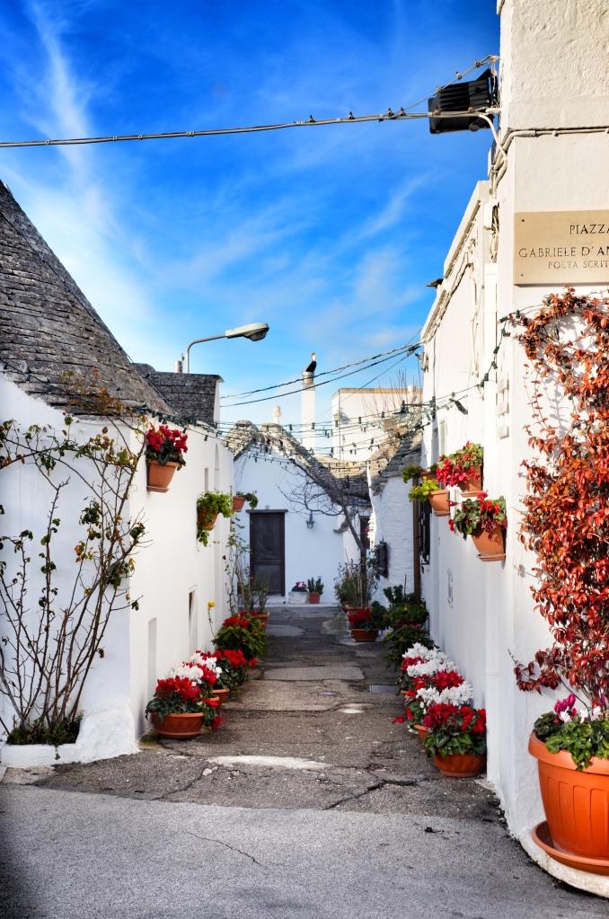 A street of trulli